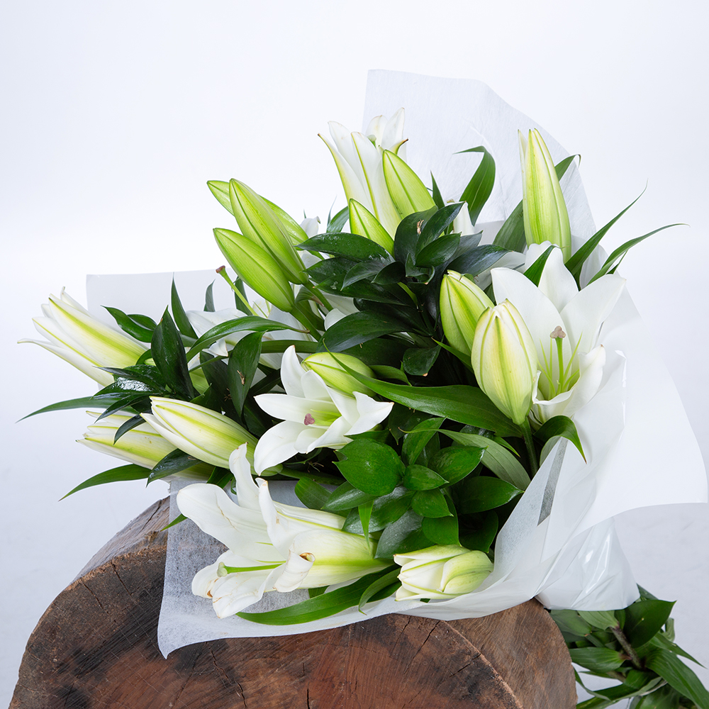 Bouquet Oriental Blanco