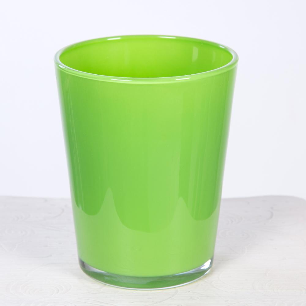 Macetero Cristal Verde